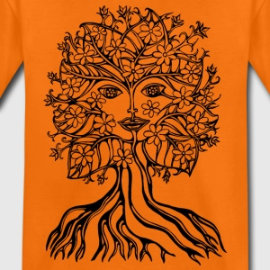 Tree fairy, save, earth, planet, forest, fantasy T-shirts - Premium-T-shirt barn