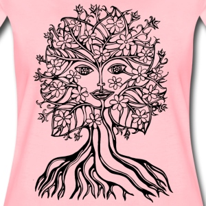 Tree fairy, save, earth, planet, forest, fantasy T-shirts - Premium-T-shirt dam