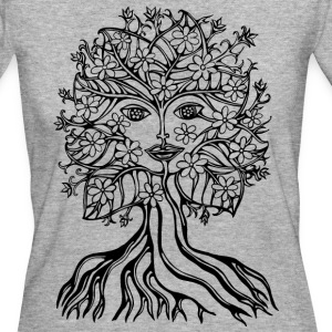 Tree fairy, save, earth, planet, forest, fantasy Magliette - T-shirt ecologica da donna