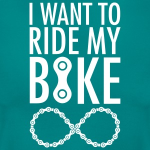I Want To Ride My Bike Forever T-Shirts - Frauen T-Shirt