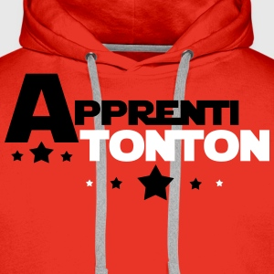 apprenti tonton Sweat-shirts - Sweat-shirt à capuche Premium pour hommes