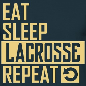 eat sleep lacrosse T-Shirts - Männer T-Shirt