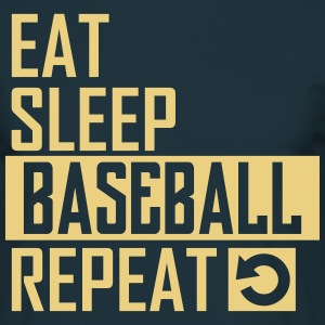 eat sleep baseball T-Shirts - Männer T-Shirt