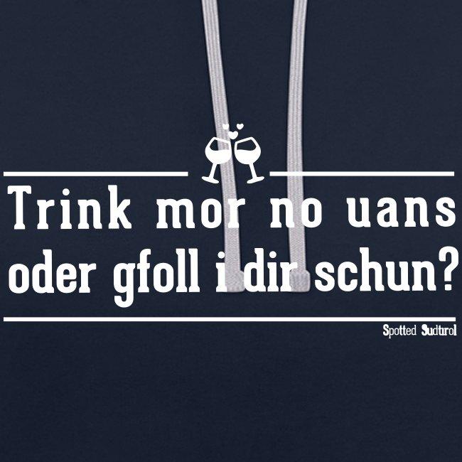 Trink mor no uans? | Unisex Hoodie
