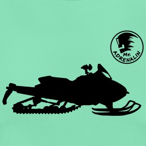 Snowmobile T-shirts - Dame-T-shirt