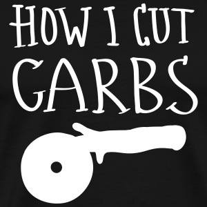 How I Cut Carbs T-shirts - Mannen Premium T-shirt