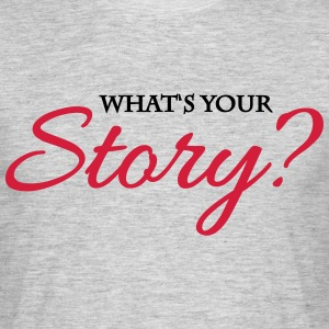 What's your story? Tee shirts - T-shirt Homme