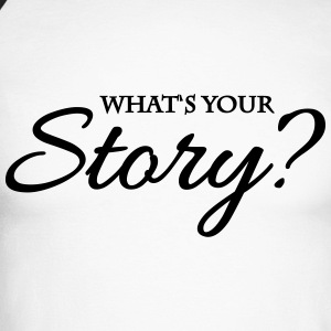 What's your story? Manches longues - T-shirt baseball manches longues Homme