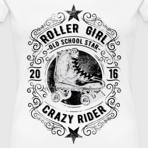 ROLLER GIRL #2 T-Shirts - Frauen Premium T-Shirt