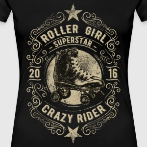 ROLLER GIRL #6 T-Shirts - Frauen Premium T-Shirt