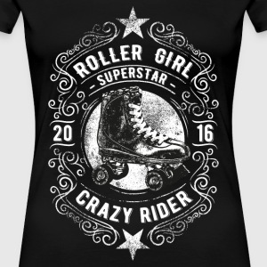 ROLLER GIRL #4 T-Shirts - Frauen Premium T-Shirt
