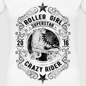 ROLLER GIRL #5 T-Shirts - Frauen Premium T-Shirt