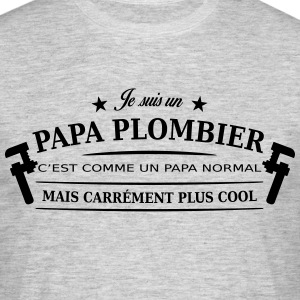 papa plombier Tee shirts - T-shirt Homme