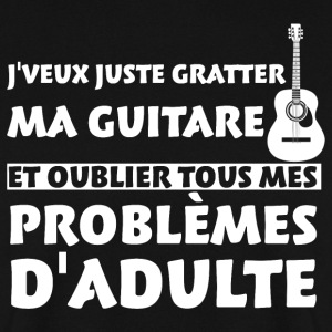 Guitare problèmes d'adulte Sweat-shirts - Sweat-shirt Homme