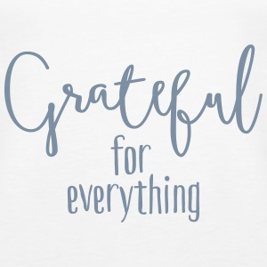 Grateful for everything Toppe - Dame Premium tanktop