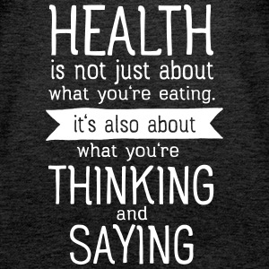 Health is also thinking and talking Toppar - Premiumtanktopp dam