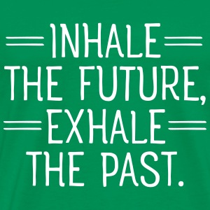 Inhale and exhale T-shirts - Mannen Premium T-shirt