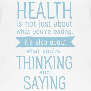 Health is also thinking and talking Top - Top da donna ecologico