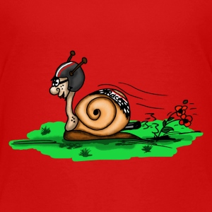 racing snail Shirts - Kids' Premium T-Shirt