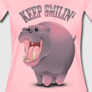 KeepSmilin' - Frauen Premium T-Shirt