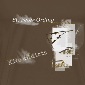 Kite Addicts St. Peter-Ording - Männer Premium T-Shirt