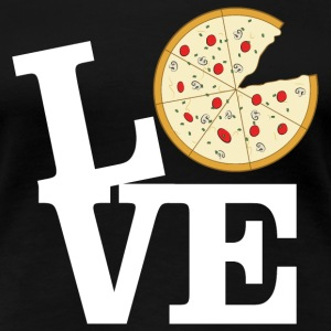Love Pizza T-shirts - Vrouwen Premium T-shirt