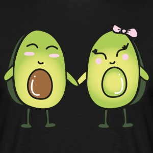Avocado Couple T-shirts - T-shirt herr