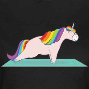 Unicorn Plank Pose T-Shirts - Women's T-Shirt