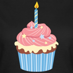 Birthday Cupcake T-shirts - Vrouwen T-shirt