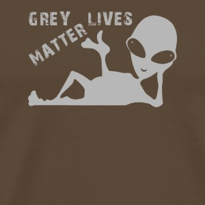 Grey Lives Matter - Men's Premium T-Shirt