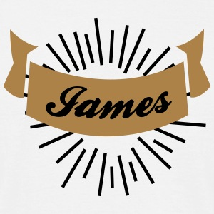 james T-Shirts - Männer T-Shirt