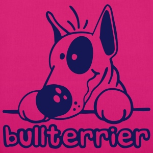Funny Bull Terrier Bags & Backpacks - EarthPositive Tote Bag