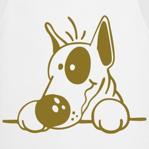 The Bull Terrier  Aprons - Cooking Apron