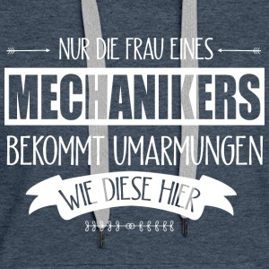 Hände Mechanikers  Pullover & Hoodies - Frauen Premium Hoodie