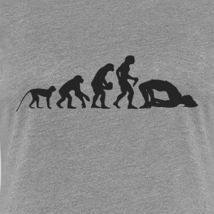 Evolution Yoga T-shirts - Dame premium T-shirt