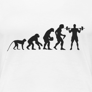 Evolution Fitness T-shirts - Dame premium T-shirt