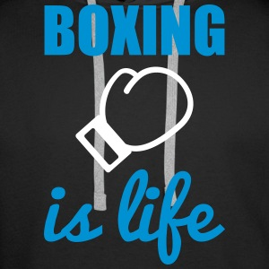 Boxing is life  Sweaters - Mannen Premium hoodie