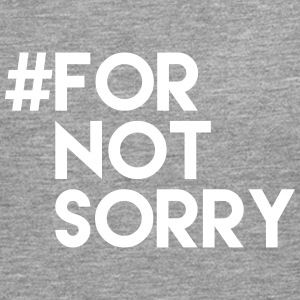 #for not sorry Langarmshirts - Männer Premium Langarmshirt