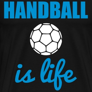 Handball is life T-shirts - Mannen Premium T-shirt