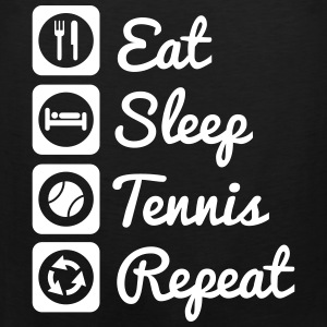 Eat sleep tennis repeat - tenis Odzież sportowa - Tank top męski Premium