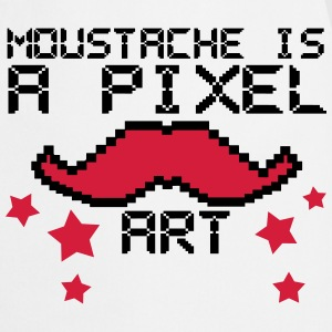 moustache is a pixel art2 Tabliers - Tablier de cuisine