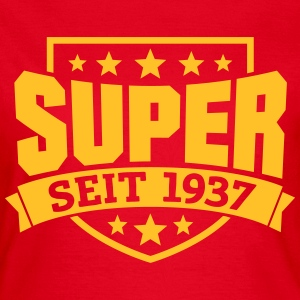 Super seit 1937 T-Shirts - Frauen T-Shirt