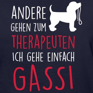 Therapeut Hund T-Shirts - Frauen Bio-T-Shirt