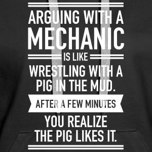 Arguing With A Mechanic... Hoodies & Sweatshirts - Women's Premium Hoodie