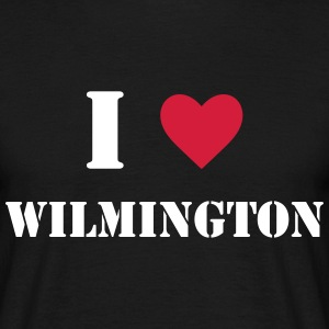 I Love Wilmington T-Shirts - Men's T-Shirt