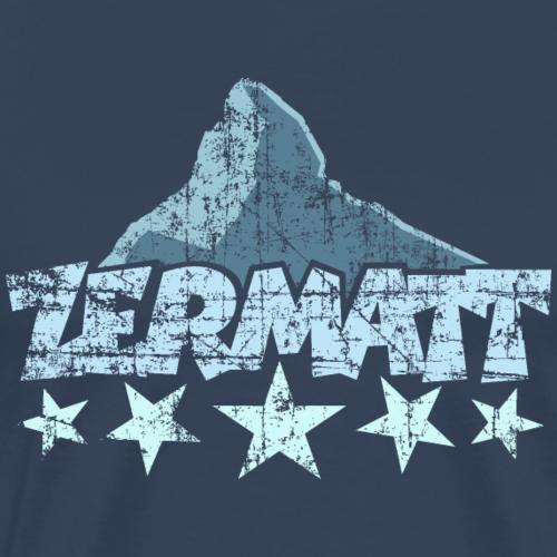 Zermatt Matterhorn 5 Sterne Vintage Hell