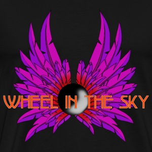 Wheel In the Sky Magenta - Männer Premium T-Shirt