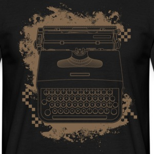 Typewriter AZERTY - T-shirt Homme