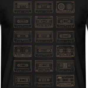 Cassettes Patchwork 80s - Tee shirt Homme