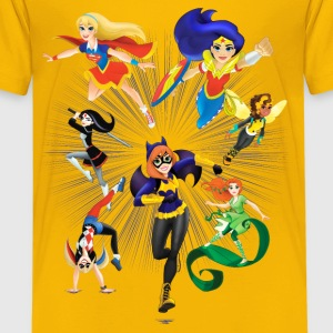 DC Super Hero Girls Heroines Ready To Fight - Premium-T-shirt tonåring